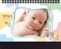 橫式桌曆A