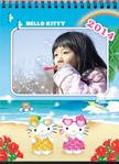 2014Kitty桌曆