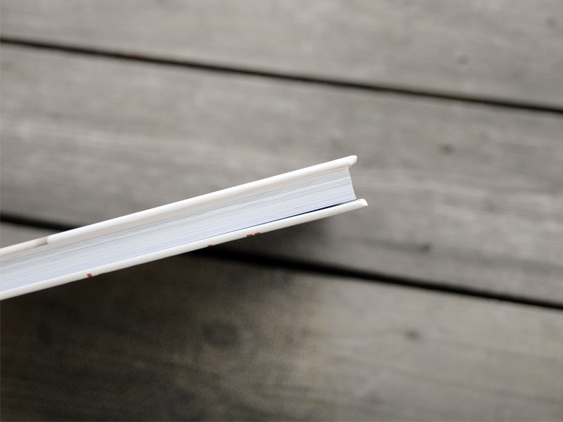 Thick pages for high quality book.