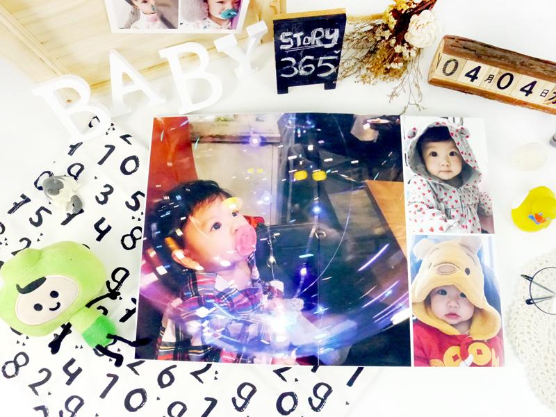 自製相簿 相片書diy 印孩子照片