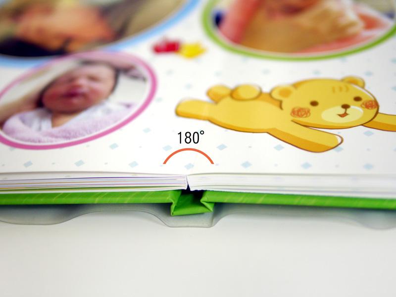 嬰兒 相本 蝴蝶裝 印刷