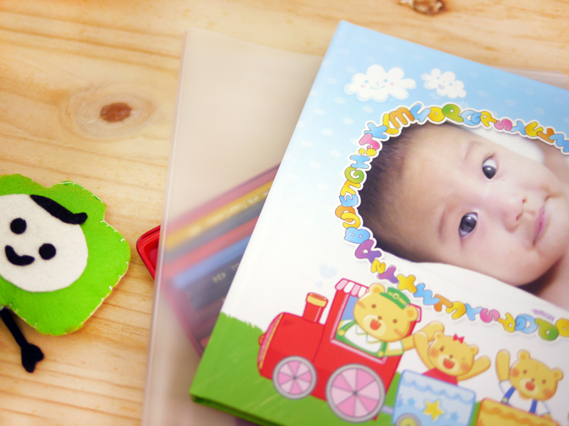寶寶 成長 相本 附書套 好貼心