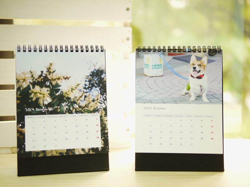 月曆製作 自助出版客製化桌曆 Story365客製相片書出版