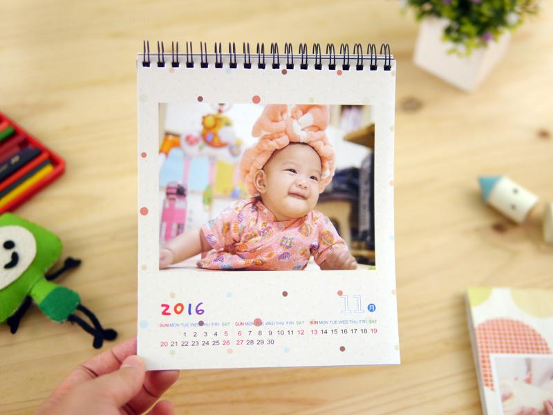 自製桌曆DIY印製 桌曆設計 桌曆製作推薦