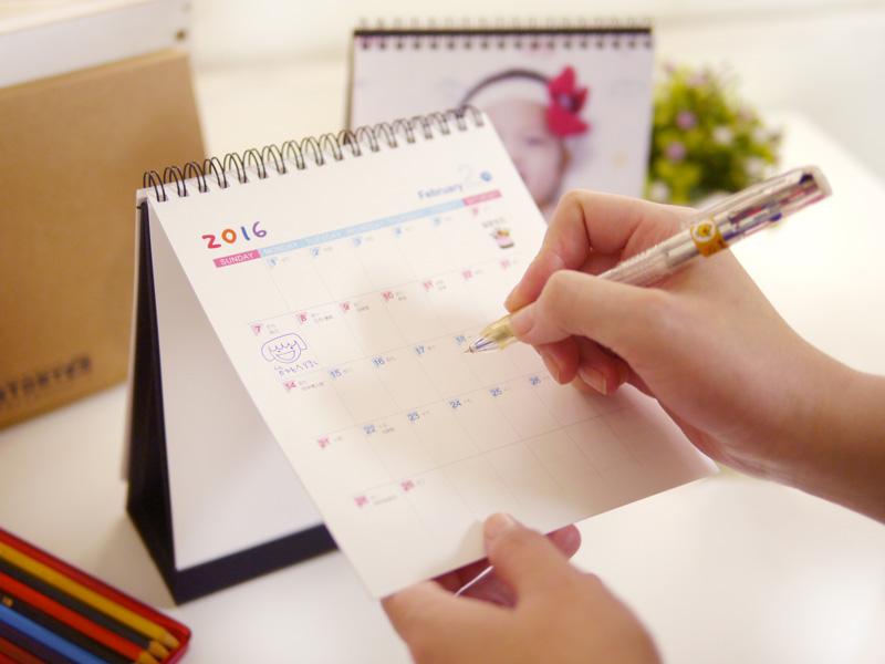 客製化桌曆好質感 桌曆製作 桌曆設計