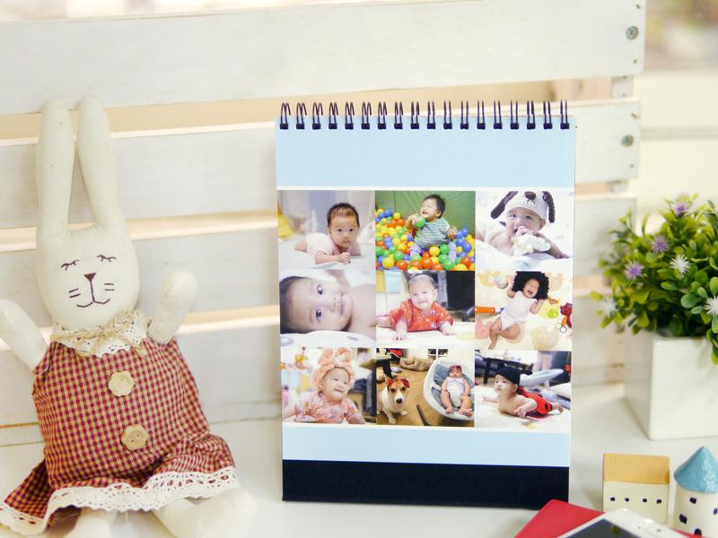 照片桌曆好特別 桌曆客製 桌曆製作