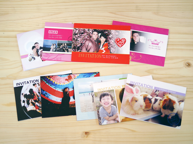 custom wedding invitations card