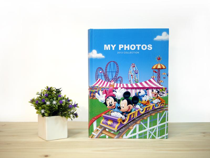 A4米奇相片書是最普遍的相片書規格,提供6款封面樣式選擇