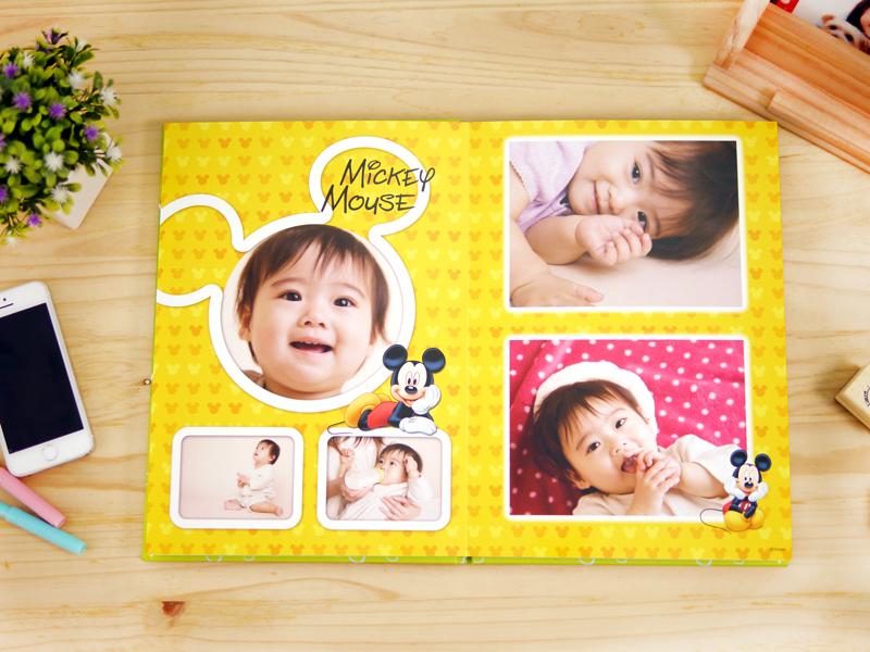STORY365提供迪士尼米奇相片書,版型超可愛,共26款樣式可選擇