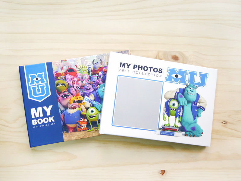 A5怪獸大學相片書,讓您方便攜帶與朋友分享,提供4種封面樣式