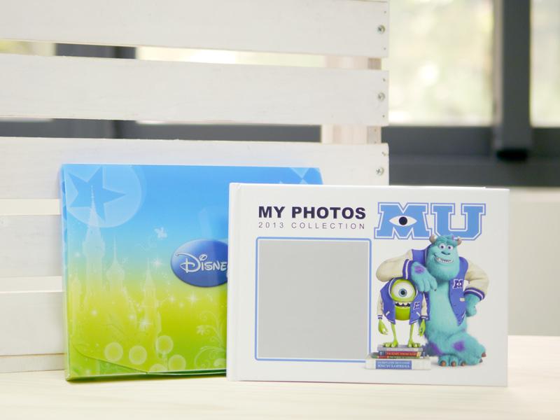 怪獸大學相片書,外包裝採用好質感迪士尼保護盒,送禮自用兩相誼