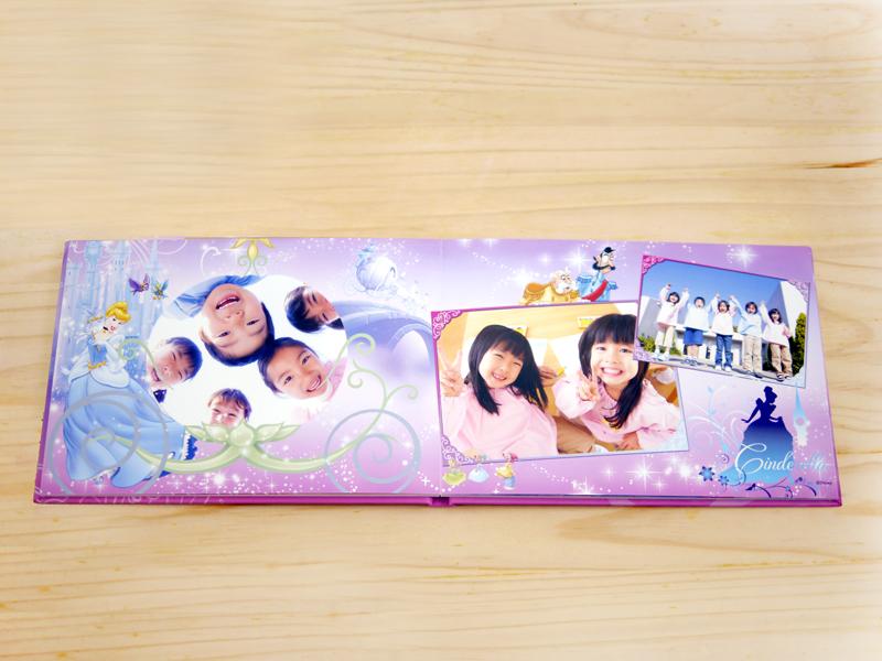 公主系列蝴蝶精裝相片書,內頁亮膜保護,照片增艷又有基本防水效果