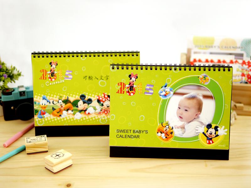 迪士尼桌曆設計有2款迪士尼米奇封面可供選擇