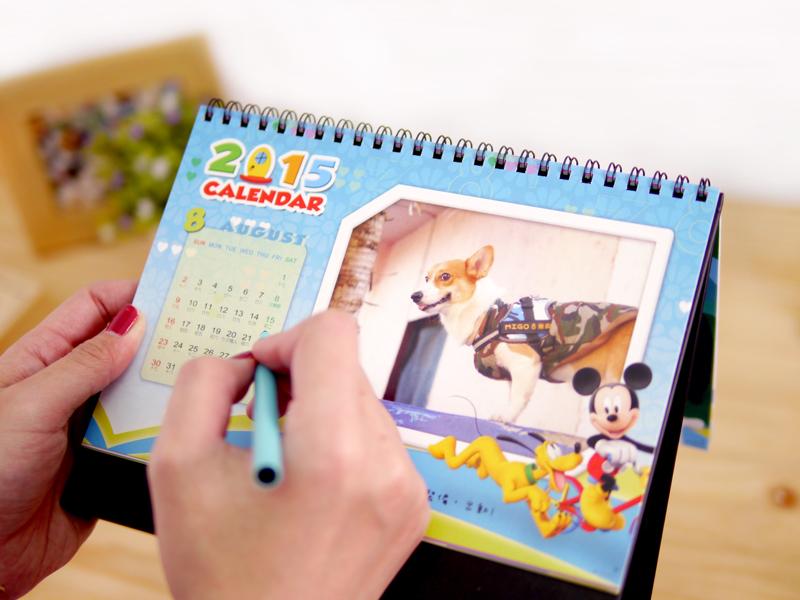 STORY365日期採精簡型,並標示國慶假日與農曆