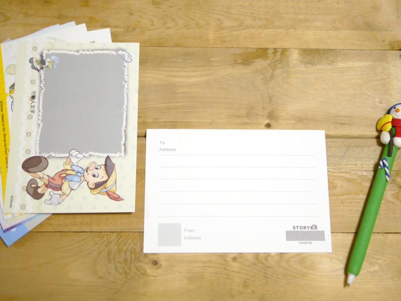 迪士尼卡通系列客製化明信片採用美術紙好書寫