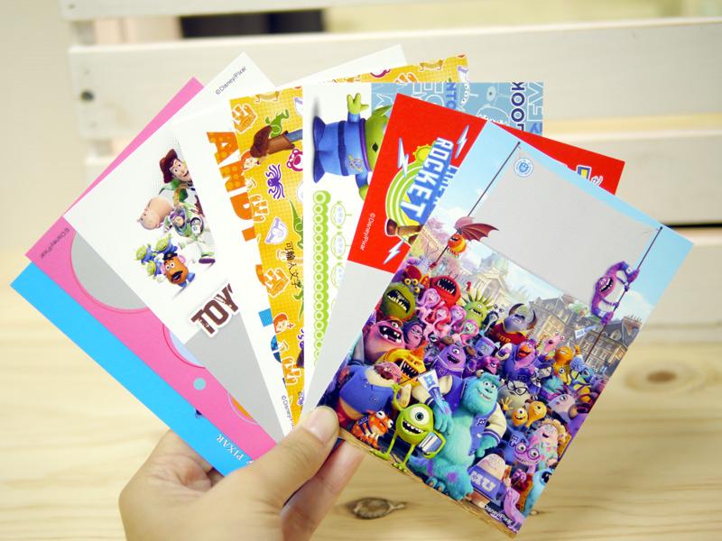 超可愛迪士尼卡通版型,怪獸大學、玩具總動員、史蒂奇、米奇、公主、維尼、瑪莉貓