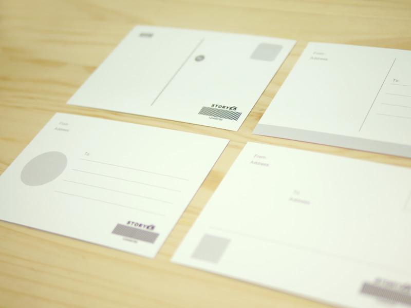 迪士尼卡通授權客製化明信片背面提供多種版型