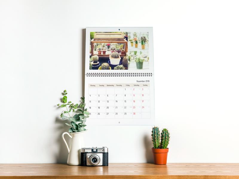 自製掛曆 照片掛曆 掛曆客製化