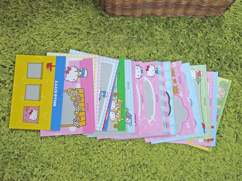 使用STORY365相片書軟體套入照片即可擁有最可愛的Hello Kitty2014明信片