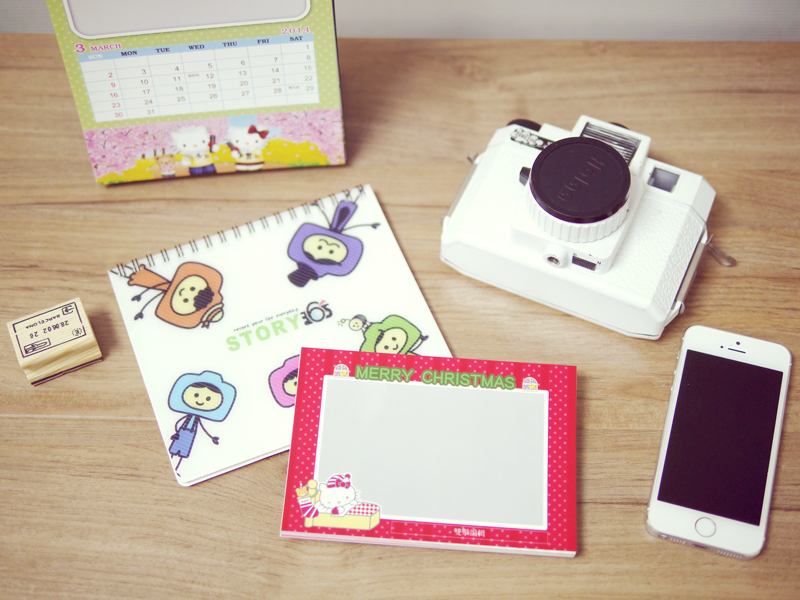 客製化Hello Kitty明信片,超人氣三麗鷗卡通陪你歡樂2014年