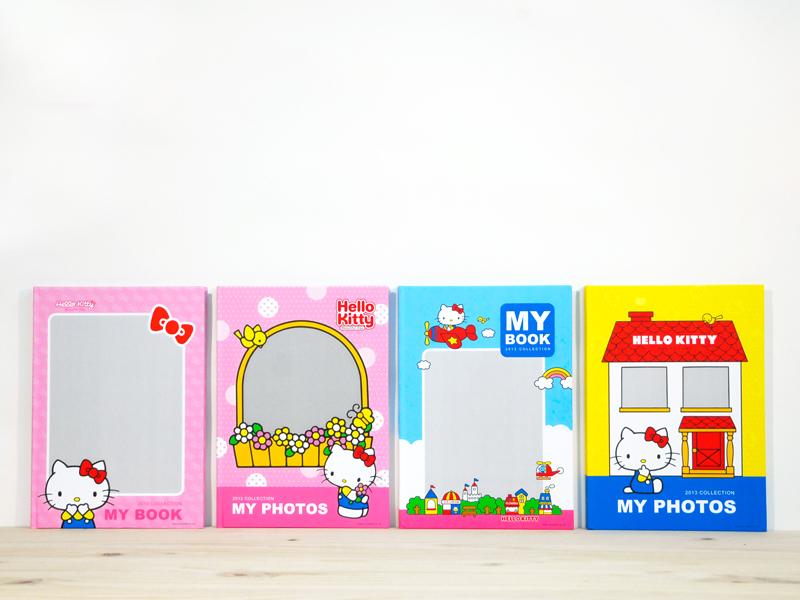 Hello Kitty美好的一天 - A4蝴蝶裝相片書,提供4種封面樣式