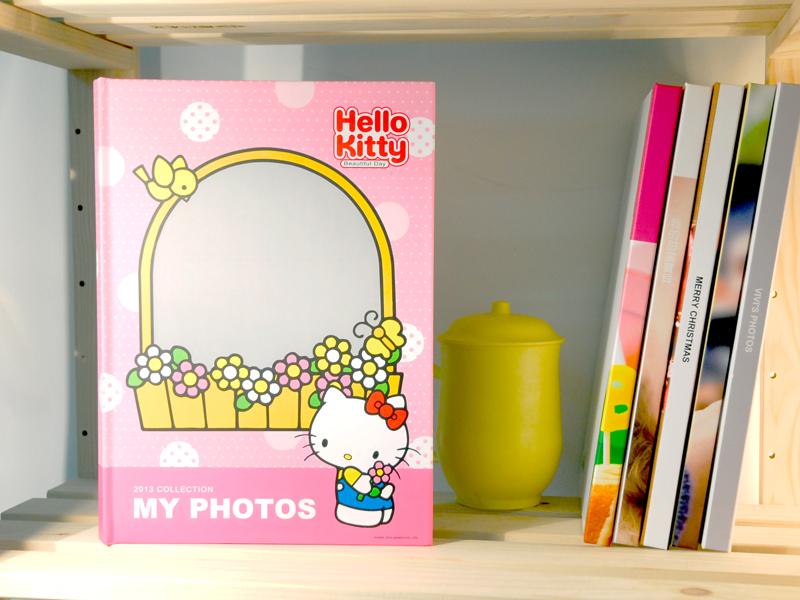 喜歡Hello Kitty的你,快來製作KITTY相片書,一起進入KITTY的可愛世界