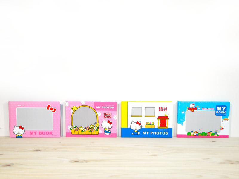 Hello Kitty美好的一天-A5蝴蝶裝相片書,讓您方便攜帶與朋友分享,提供4種封面樣式