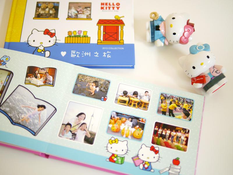 STORY365提供Hello Kitty相片書,版型超可愛,提供20款樣式可選擇