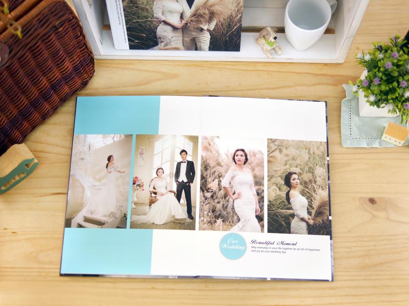 DIY 自製 婚紗本 超簡單