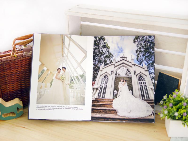 A4 尺寸 婚紗本 方便 攜帶收藏